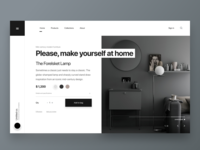 Layout exploration for ecommerce furniture store