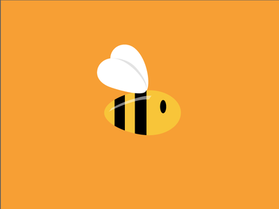 And now for something completely different illustration branding logo identity animal bee bees ccd cute cuddly