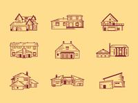 Architecture Illustration Set