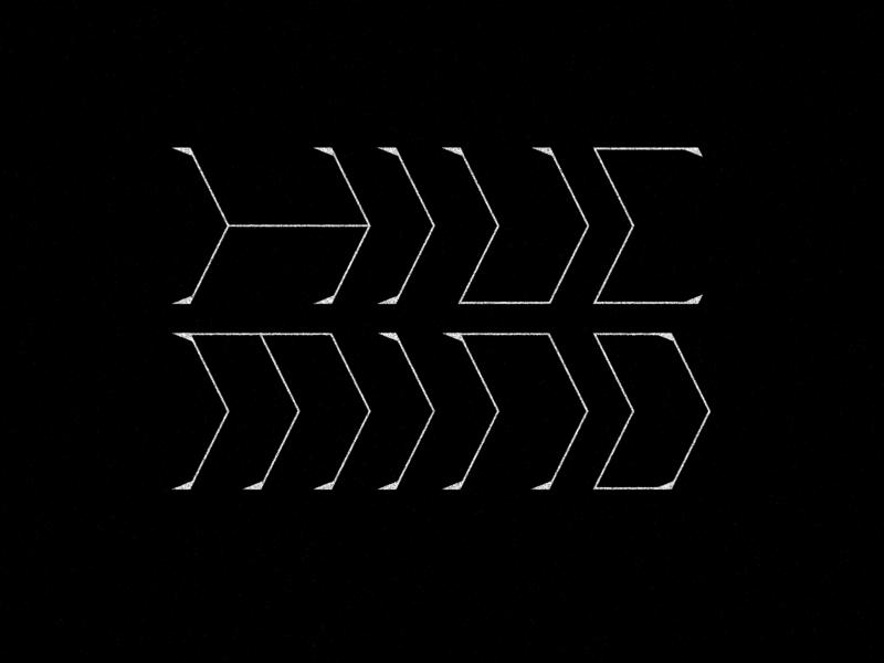 Hive Mind Type metal experimental display serif monoweight typography type mind hive