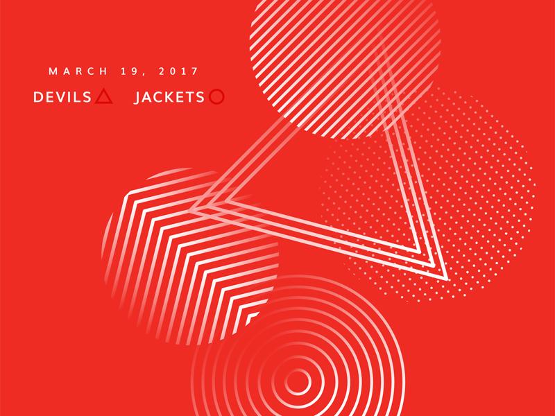 Blue Jackets Score: March 19, 2017 score columbus blue jackets hockey data visualization data minimal sports nhl infographics