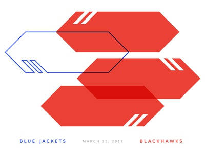Blue Jackets Score: March 31, 2017