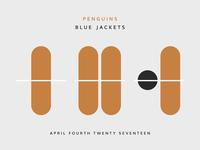 Blue Jackets Score: April 4, 2017