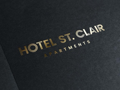 Hotel St. Clair Apartments Primary Logo