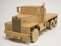 Kenworth, cardboard truck