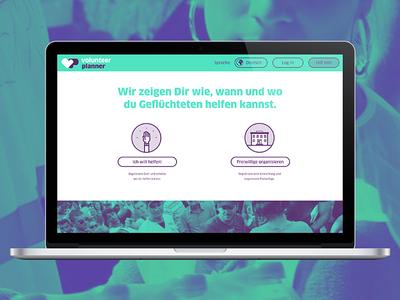 volunteer responsive website website responsive planner calendar
