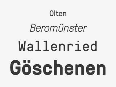GT Pressura Font