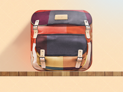 Backpack icon icon