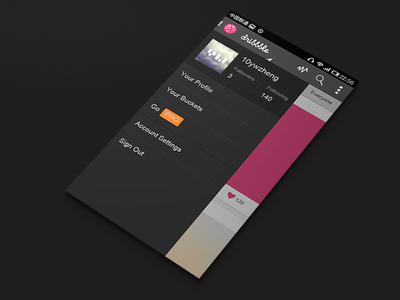 Dribbble For Android_2 android app