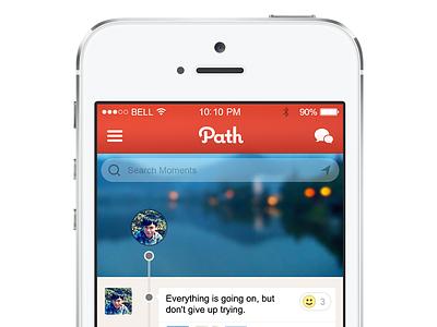 Path for iOS7 ios app