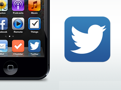 Twitter Icon Replacement (PSD)