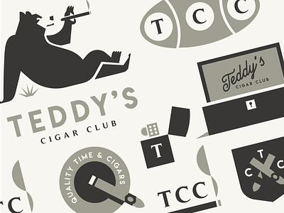 Teddy's character bear logodesign typography illustration mascot branding symbol animal design logo