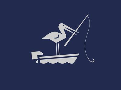 The Hungry Stork iillustration branding character typography vector illustration symbol mascot stork animal logo