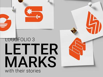 Lettermarks Logofolio design vector mark minimal logo typography symbol lettermark logofolio illustration branding