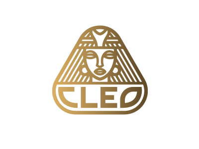 Cleopatra design logo egypt cleopatra