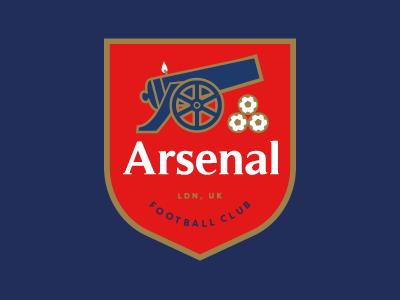 Arsenal Logo icon symbol logo design coat of arms logo club crest club logo soccer crest soccer arsenal fc arsenal football club football