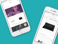 Qubit Aura - mobile web shopping discovery app