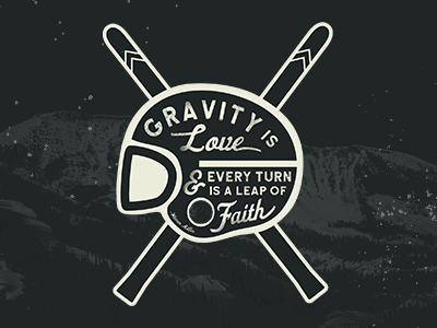 Gravity is Love - Warren Miller