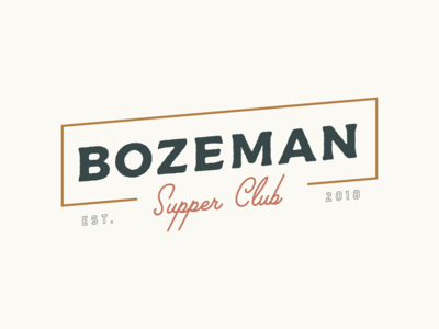 Bozeman Supper Club - Logo 2