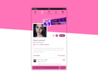 #DailyUI #006 User Profile