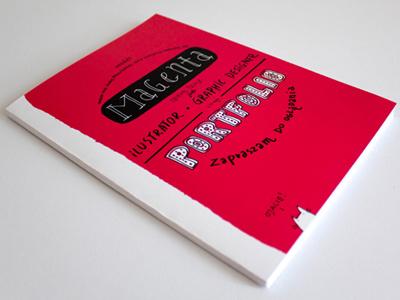 Portfolio portfolio typography illustration magenta