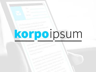 Korpoipsum lorem ipsum corporate