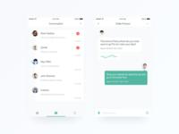 Chat list concept