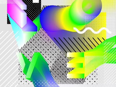 Neo-brutalist typography experiment