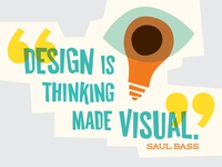 Saul Bass Quote