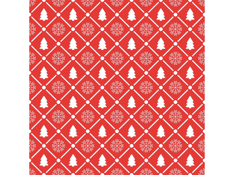 Holiday seamless pattern with christmas tree and snowflakes snowflake christmas tree holiday pattern seamless merry christmas new year shutterstock vector illustration design