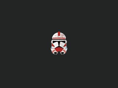 Coruscant guard clone trooper