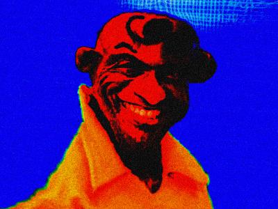 ROKER weatherman celebrity surreal warped distorted photo edit photoshop portrait al roker