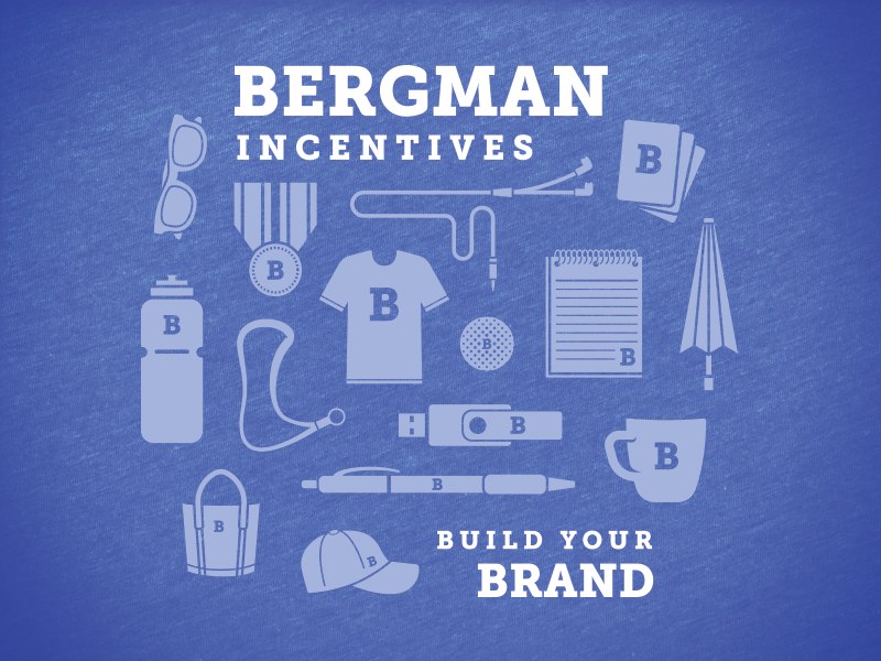 Bergman Incentives promotional products swag icons t-shirt shirt incentives bergman