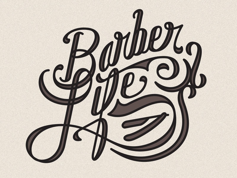 barber life by connor brandt dribbble