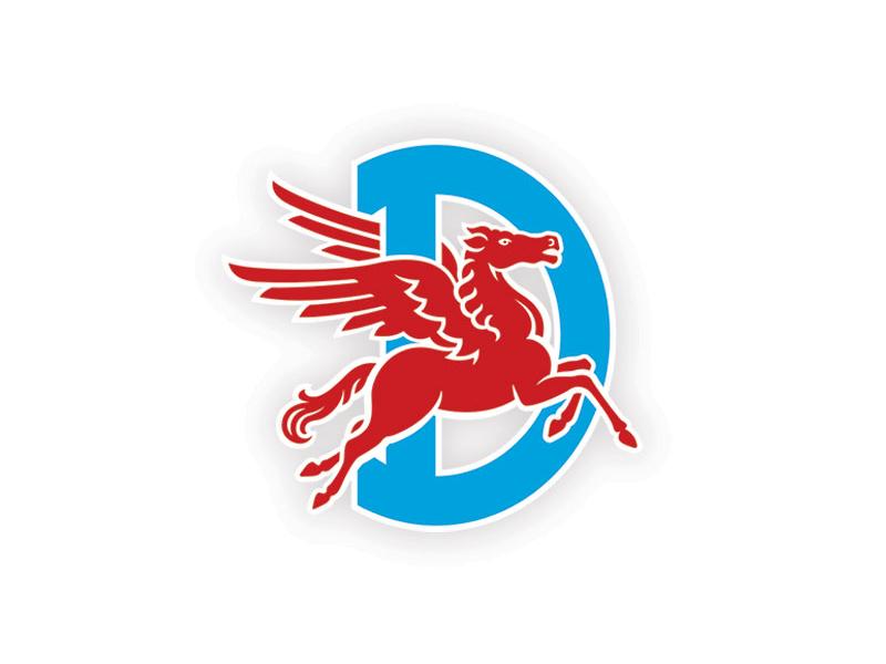 Dallas Pegasus Lacrosse wings d horse lacrosse sports logo pegasus dallas