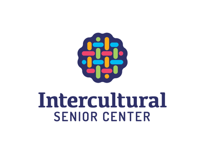 Intercultural Senior Center fabric weave thread senior center diversity intercultural logo