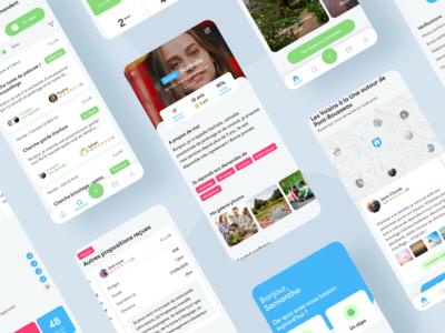 Allovoisins app - Sharing economy