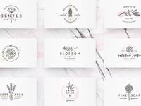 So Flowery Branding Kit+Watercolours