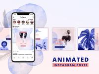 ANIMATED Instagram Posts – Bold