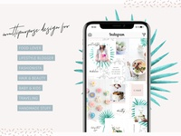 Charming Instagram Puzzle Template