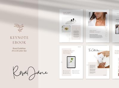 Keynote eBook Brand Guidelines – Rosa Jane