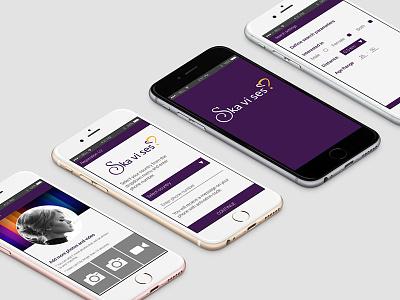 Ska Vi Ses? android design ui ux app mobile