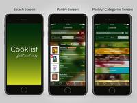Cooklist Mobile App