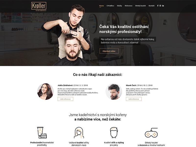 Hairdresser's homepage of web hairdresser webdesign hairdresser web hair hairdresser uiux web design web ux ui design webdesign website