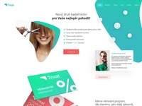 Webdesign of hairdresser's