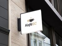 """Logo of café """"KaféSC"""""""