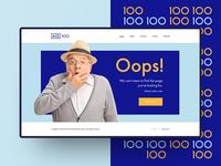 AIG 100 - 404 Page Design