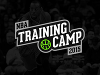 NBA Training Camp Stamp