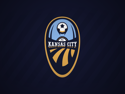 FC Kansas City 2 wps kansas city fc branding crest soccer logo logo design designer football concept concepts sports womens pro soccer nwsl