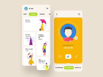 Shopping App Concept mobile fashion app ios app uidesign ios uiux ux ui ui kit interface ecommerce minimal minimalism shopping cart product store concept shopping app